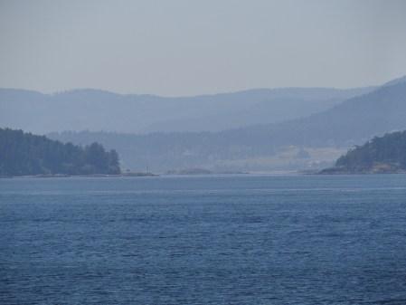 Sailing to Friday Harbor