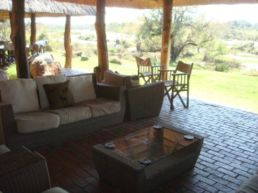 Inyati outdoor patio lounge