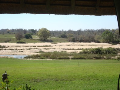 Inyati view of Sabi River