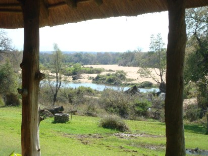 Inyati view of the Sabi River