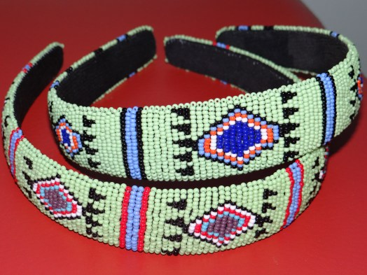 South African beaded headbands