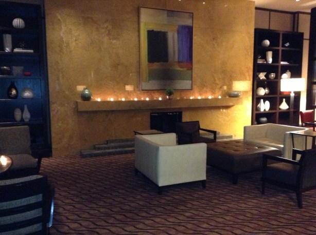 Westin Copley Place lounge area