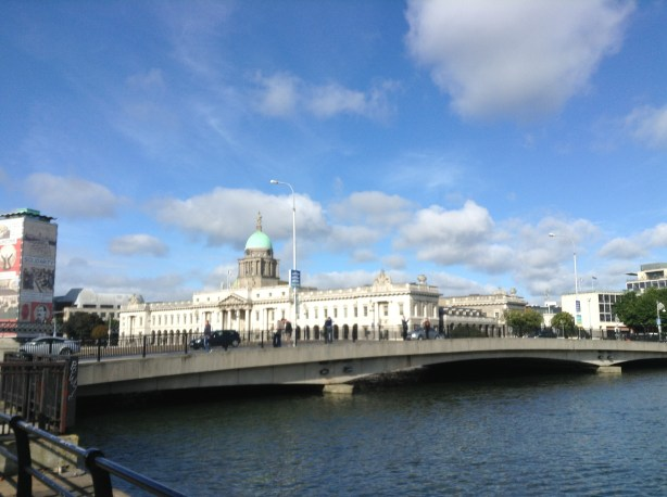 Customs House Dublin along the River Lifey