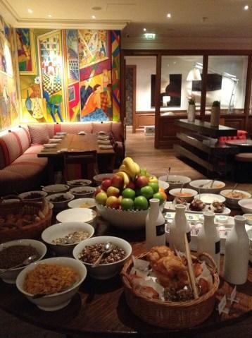 Charlotte Street Hotel Breakfast