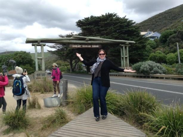 At The Great Ocean Road Memorial Arch