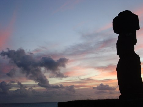 Easter Island Sunset 10 Solo Travel Tips