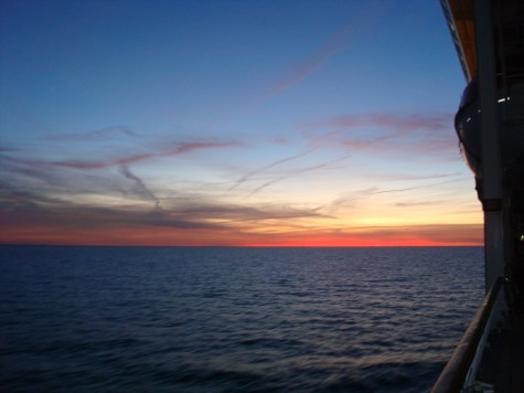 Baltic Cruise sunset offbeat travel planned by Arden Road Travel PhilaTravelGirl