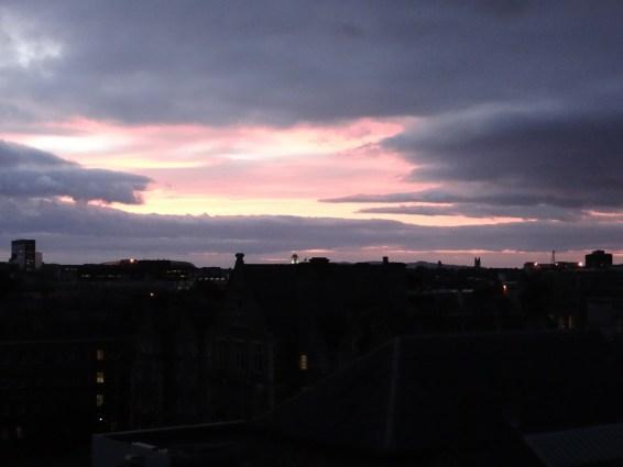 Westin Dublin sunrise