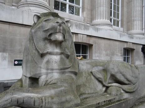 British Museum lions