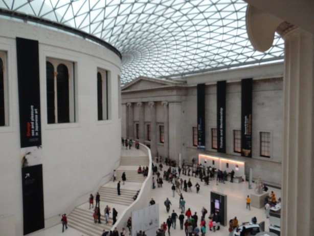 Courtyard of the British Museum