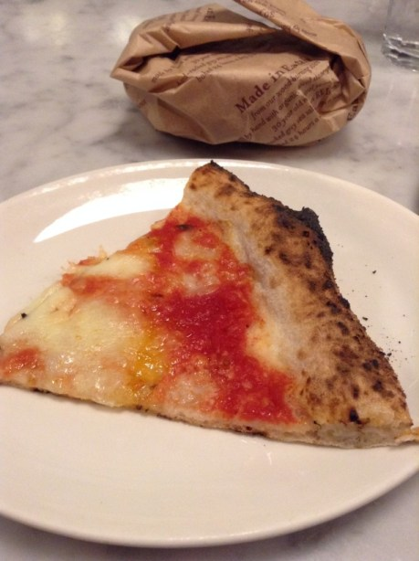 Eataly NYC pizza and bread
