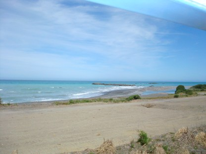 South Island New Zealand beach