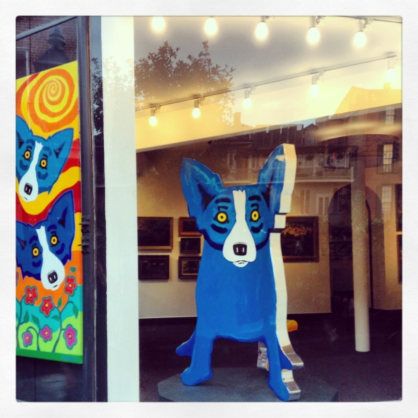 Blue Dog George Rodrigue New Orleans