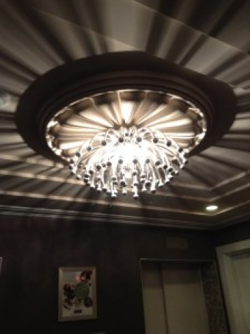 Hotel Palomar lighting