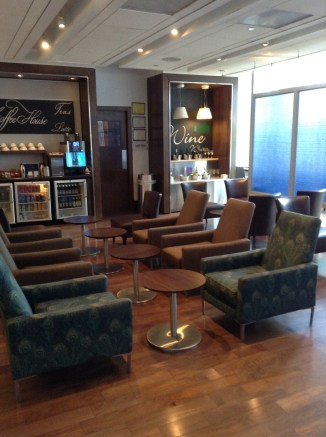Club World PHL British Airways lounge PHL