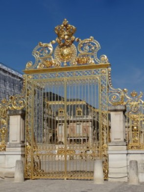 Versailles golden entry gate