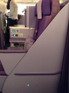 Thai A380 Business class