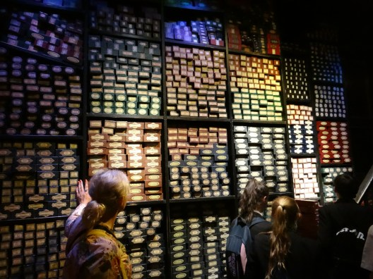 The Wand Room Harry Potter Studio tour