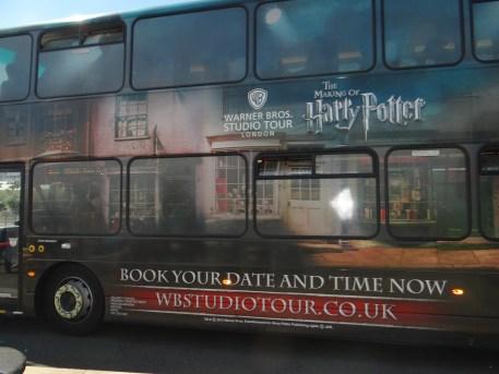 Harry Potter Studio Tour Shuttle Bus