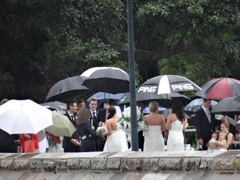Sydney Wedding in the Rain