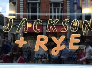 Jackson + Rye Soho breakfast 5 Days in London