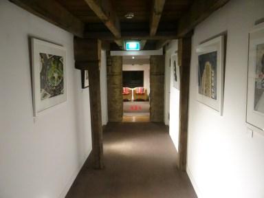 The Henry Jones Art Hotel hallways of art