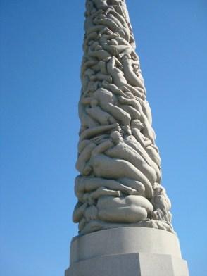 Vigeland Sculpture Park Monolith