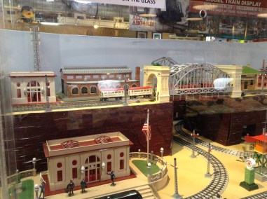 Reading Terminal Market holiday trains