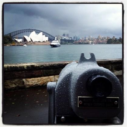 Rainy Day Sydney views