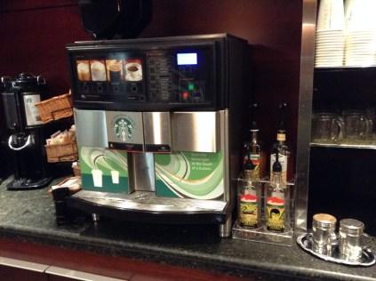 Alaska Airlines boardroom seattle coffee
