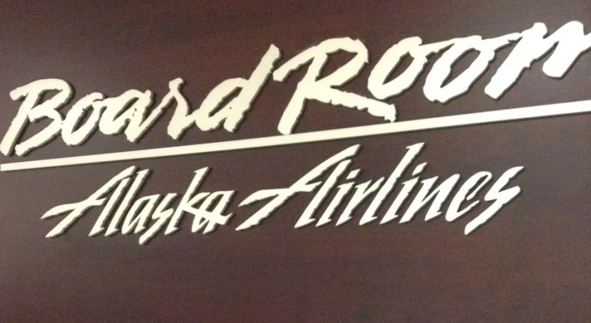 Board Room Seattle Alaska Airlines