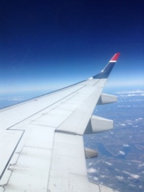 USAirways view from the wing