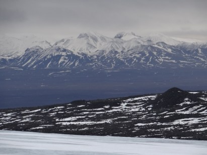 Winter Visit to Reykjavik Iceland Glacier and Mountains
