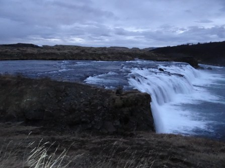 Faxi Waterfall Golden Circle Iceland