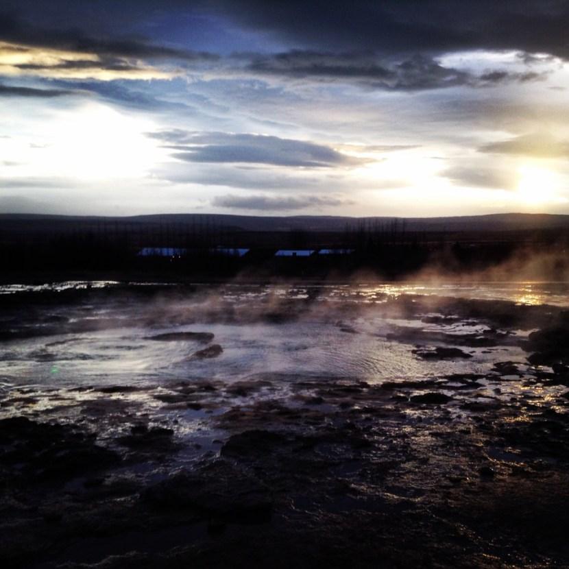 Iceland Geyser Park