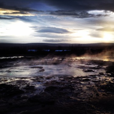 Iceland Geyser Park Philly to Iceland