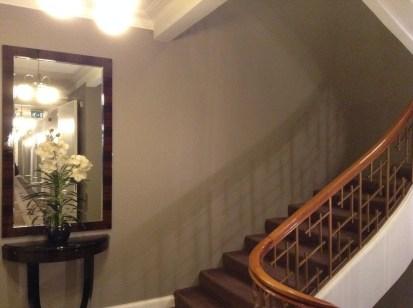 Hotel Borg stairs