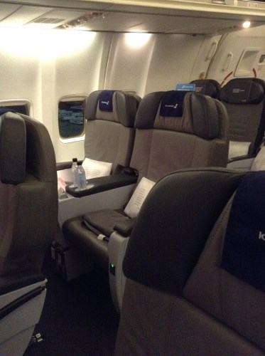 Icelandair Saga Class Seat Philly to Iceland PHL-KEF