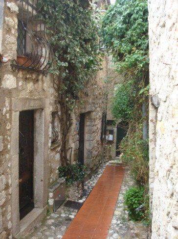 Eze French town on repositioning cruise Venice to Lisbon