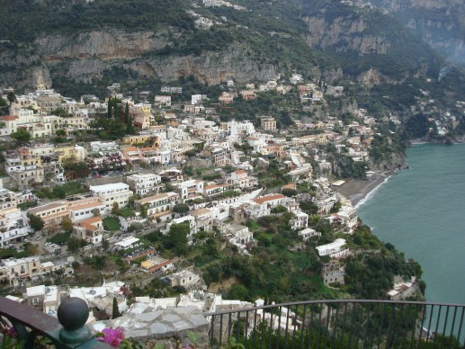 Positano view in Italy - First trip to Italy