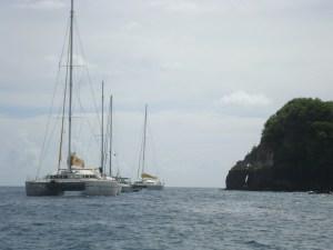 St. Lucia catamarans