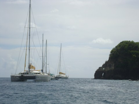 St. Lucia catamarans first time cruise tips and stop