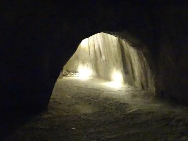 Underground Naples tunnel