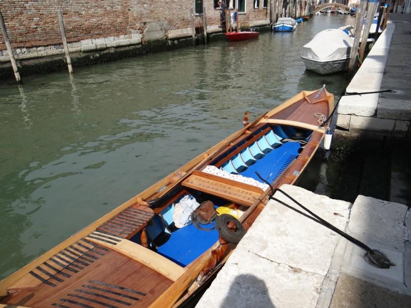 Row Venice boat
