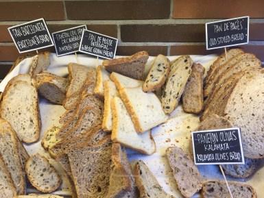 Praktik Bakery breakfast breads