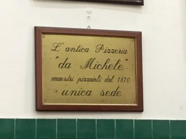 L'Antica Pizzeria da Michele Naples