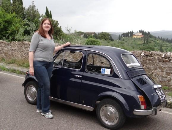 Fun Fiat500 Cinquecentro Tour of Florence Italy