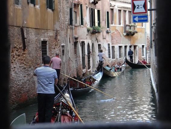Venice Gondolas on Canal