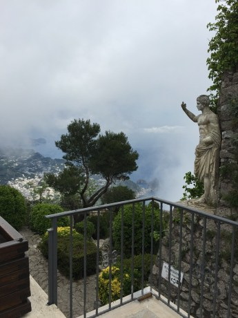 Augustus statute Anacapri Monte Solaro