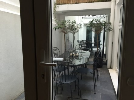 Airbnb London patio basement flat